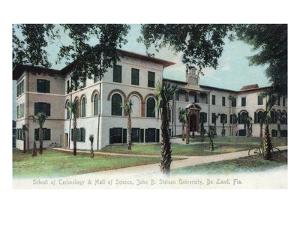 Deland, Florida - Stetson University, Hall of Science Building by Lantern Press