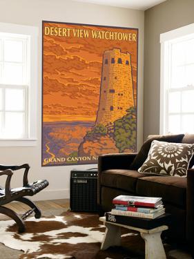 Desert Watchtower, Grand Canyon, Arizona by Lantern Press