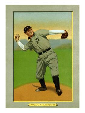 Detroit, MI, Detroit Tigers, George Mullin, Baseball Card by Lantern Press