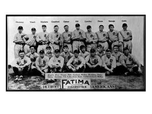 Detroit, MI, Detroit Tigers, Team Photograph, Baseball Card by Lantern Press