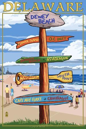 Dewey Beach, Delaware - Destination Signpost