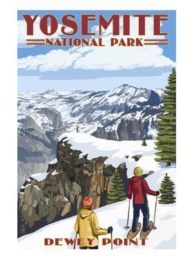 Dewey Point - Yosemite National Park, California by Lantern Press