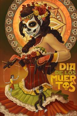Dia De Los Muertos Marionettes by Lantern Press