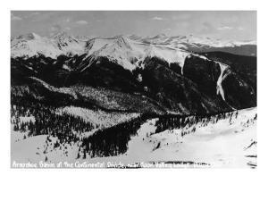 Dillon, Colorado - Arapahoe Basin at Continental Divide by Lantern Press