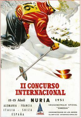 Downhill Skiing Promotion - Il Concurso Internacional by Lantern Press