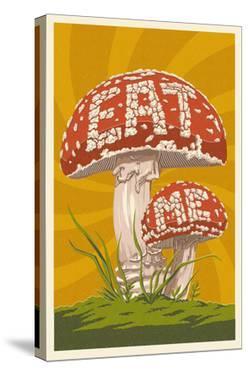 Eat Me Mushroom by Lantern Press