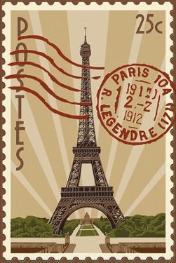 Eiffel Tower by Lantern Press