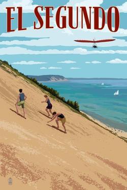 El Segundo, California - Dunes by Lantern Press