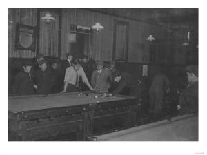 Elm Pool Room Billiards Club Photograph - New Bedford, MA by Lantern Press