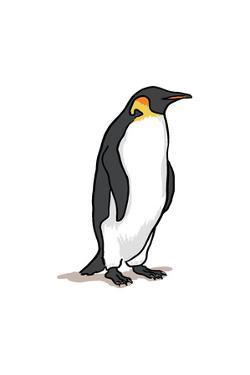 Emperor Penguin - Icon by Lantern Press