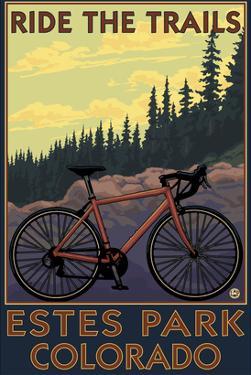 Estes Park, Colorado - Ride the Trails by Lantern Press