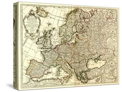 Europe - Panoramic Map by Lantern Press