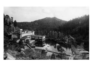 Evergreen, Colorado - Troutdale-in-the-Pines Resort by Lantern Press