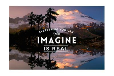 Everything you can Imagine is Real by Lantern Press