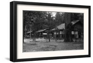 Exterior View of a Camp Curry Bungalow - Yosemite National Park, CA by Lantern Press