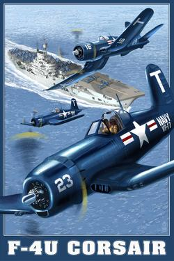 F-4U Corsair by Lantern Press