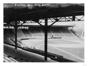 Fenway Park, Boston Red Sox, Baseball Photo No.3 - Boston, MA by Lantern Press
