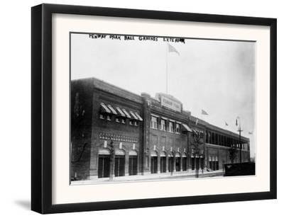 Fenway Park, Boston Red Sox, Baseball Photo No.4 - Boston, MA by Lantern Press