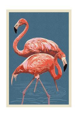 Flamingo by Lantern Press