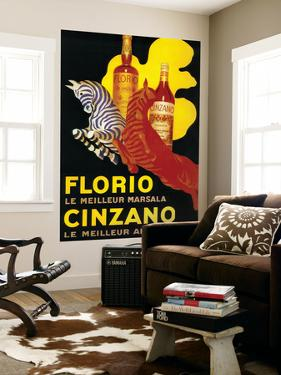 Florio Cinzano Vintage Poster - Europe by Lantern Press