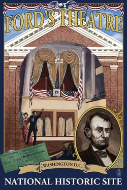 Ford's Theatre National Site - Washington, DC by Lantern Press
