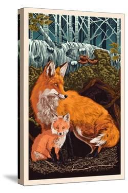 Fox and Kit by Lantern Press
