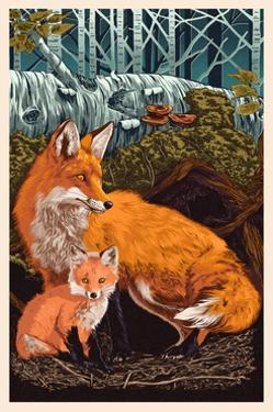 Fox and Kit by Lantern Press