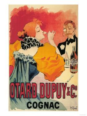 France - Otard-Dupuy & CO. Cognac Promotional Poster by Lantern Press