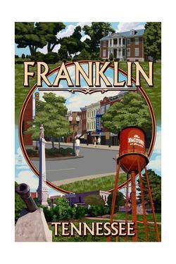 Franklin, Tennessee - Montage by Lantern Press