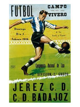 Futbol Promotion - Campo Del Vivero by Lantern Press