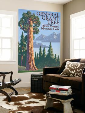 General Grant Tree - Kings Canyon National Park, California by Lantern Press