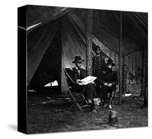 General U.S. Grant in Camp, Civil War by Lantern Press