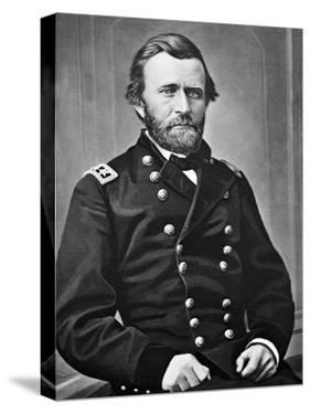 General U.S. Grant Portrait, Civil War by Lantern Press