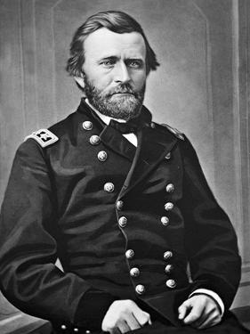 General U.S. Grant Portrait, Civil War by Lantern Press
