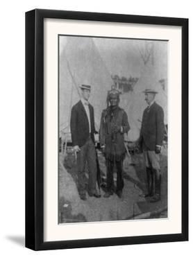 Geronimo at Pan-American Expo Photograph - Buffalo, NY by Lantern Press