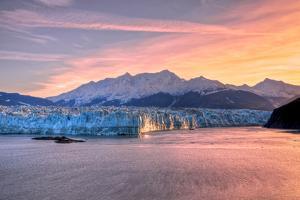 Glacier at Sunrise by Lantern Press
