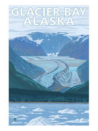 Glacier Bay, Alaska, Glacier Scene