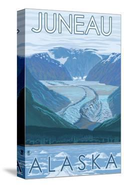Glacier Scene, Juneau, Alaska by Lantern Press