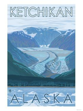 Glacier Scene, Ketchikan, Alaska by Lantern Press