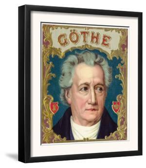 Goethe Brand Cigar Box Label by Lantern Press