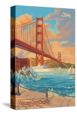 Golden Gate Bridge Sunset - 75th Anniversary - San Francisco, CA