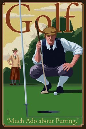 Golf - Much Ado about Putting by Lantern Press