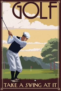 Golf - Take a Swing at It by Lantern Press