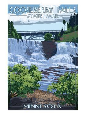 Gooseberry Falls State Park - Minnesota by Lantern Press