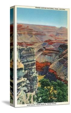 Grand Canyon Nat'l Park, Arizona - Northeastern View from Near El Tovar Hotel by Lantern Press