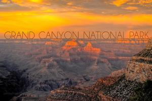 Grand Canyon National Park - Overview by Lantern Press