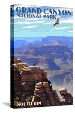 Grand Canyon National Park - South Rim by Lantern Press