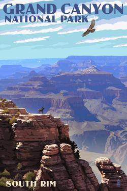 Grand Canyon National Park - South Rim by Lantern Press