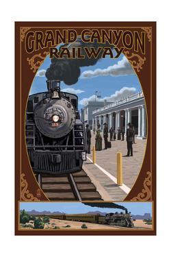 Grand Canyon Railway, Arizona - Williams Depot by Lantern Press