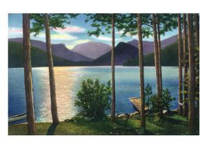 Grand Lake, Colorado - Sunrise Scene on the Lake by Lantern Press